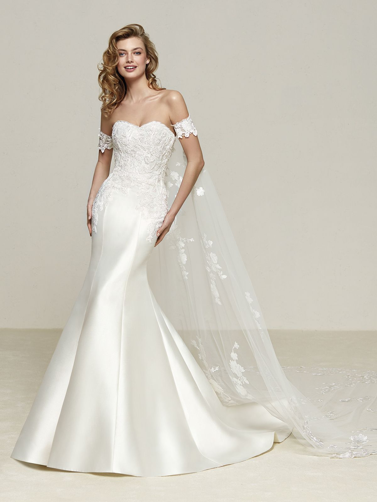 4a138800e Vestido de Novia de Pronovias (DRILEAS)