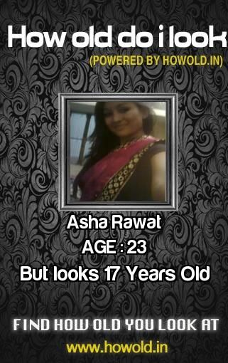 How old do you really look? Find at http://apps.howold.in/how_old