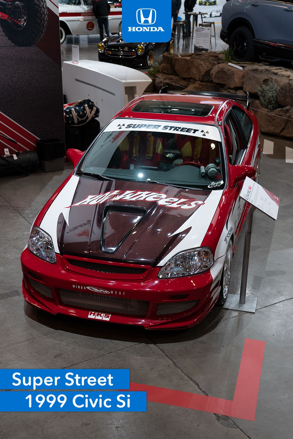 Honda Civic Si 2000 Modified : honda, civic, modified, Wheels, Super, Street, Series, Online