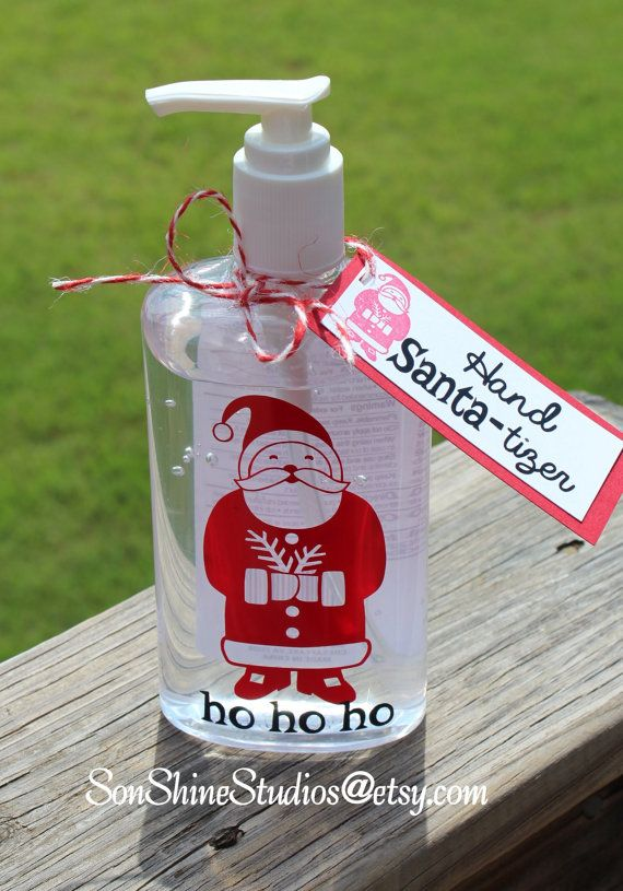 Christmas Hand Sanitizer Large 10 Oz By Sonshinestudios On Etsy