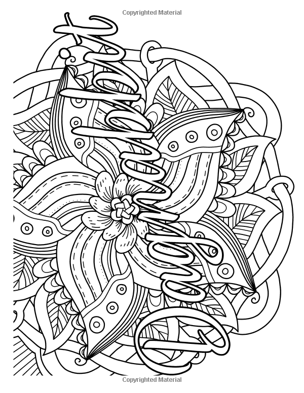 Adulting coloring pages ~ Granny Swears: An Adult Coloring Book With Swears Grannies ...