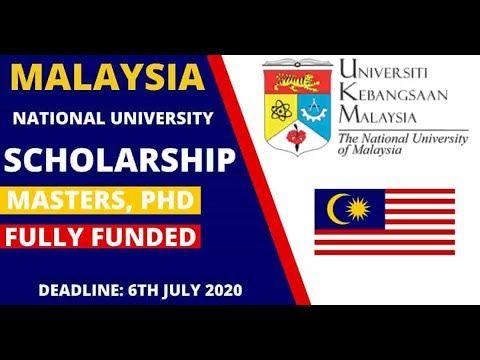 Universiti Kebangsaan Malaysia Scholarship 2021 (Fully ...