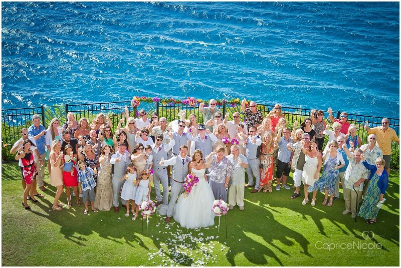 How about some sparkly blue ocean on your wedding day?