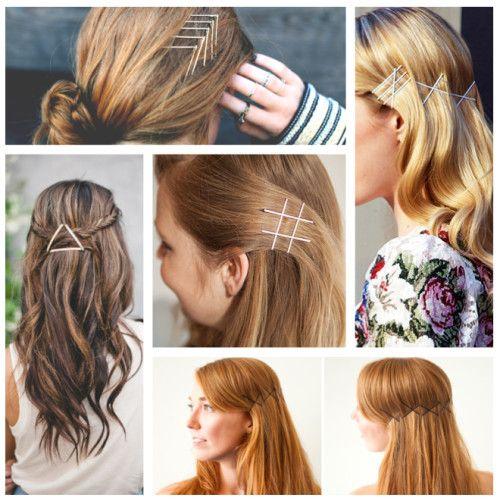 5 Pinterest Worthy Ways To Wear Bobby Pins Pretty Hairstyles Hair Gorgeous Hair
