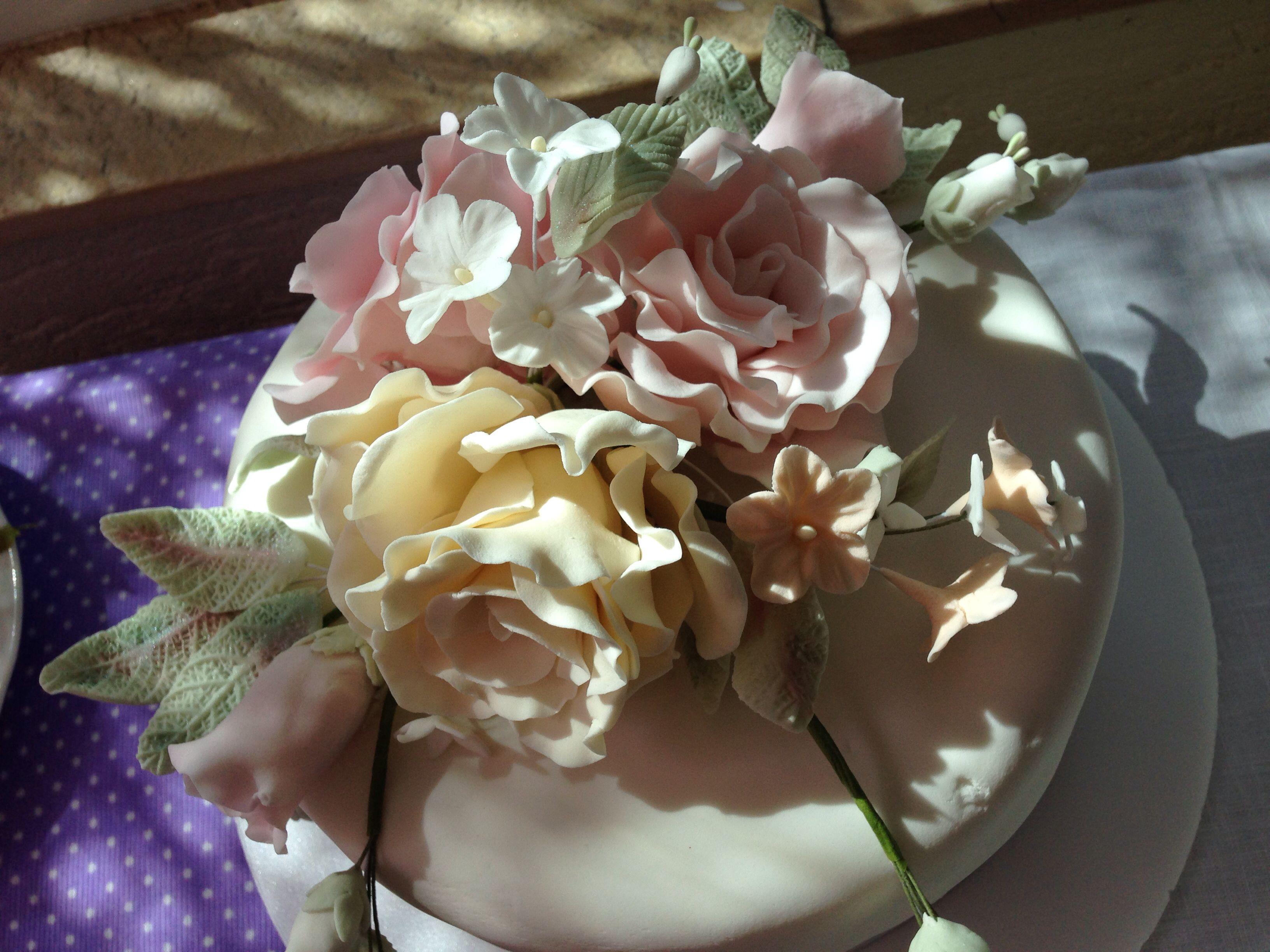 sugar flowers by mom