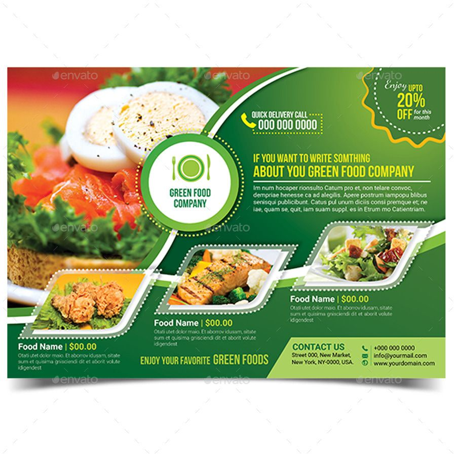 green food flyer template shakes flyer template templates