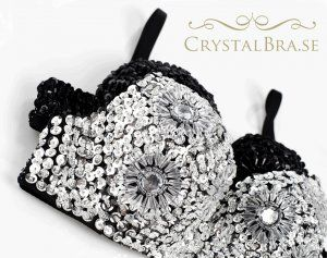 Beautiful crystal bra - LOVE IT!