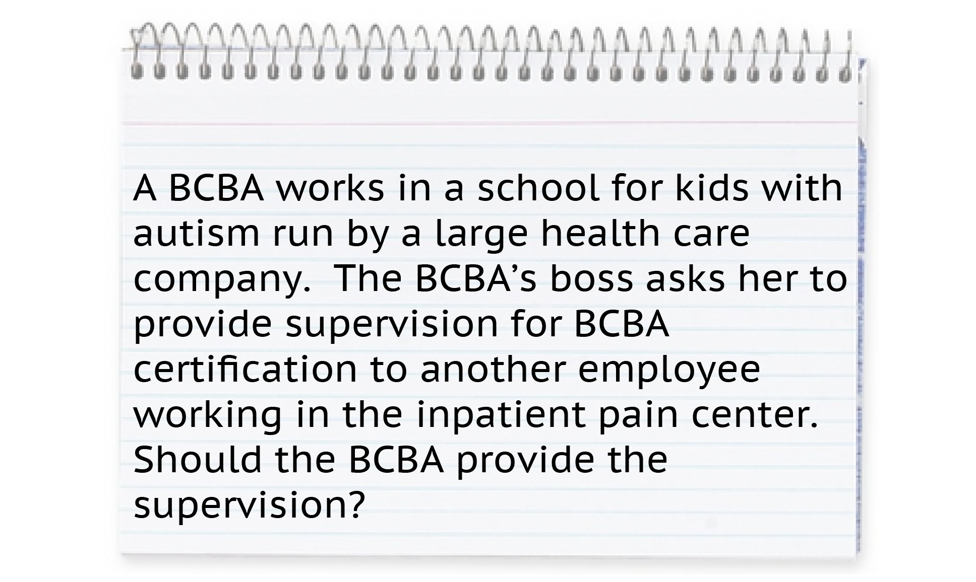 A bcba works in a school for kids with autism run by a large a bcba works in a school for kids with autism run by a large health care xflitez Images