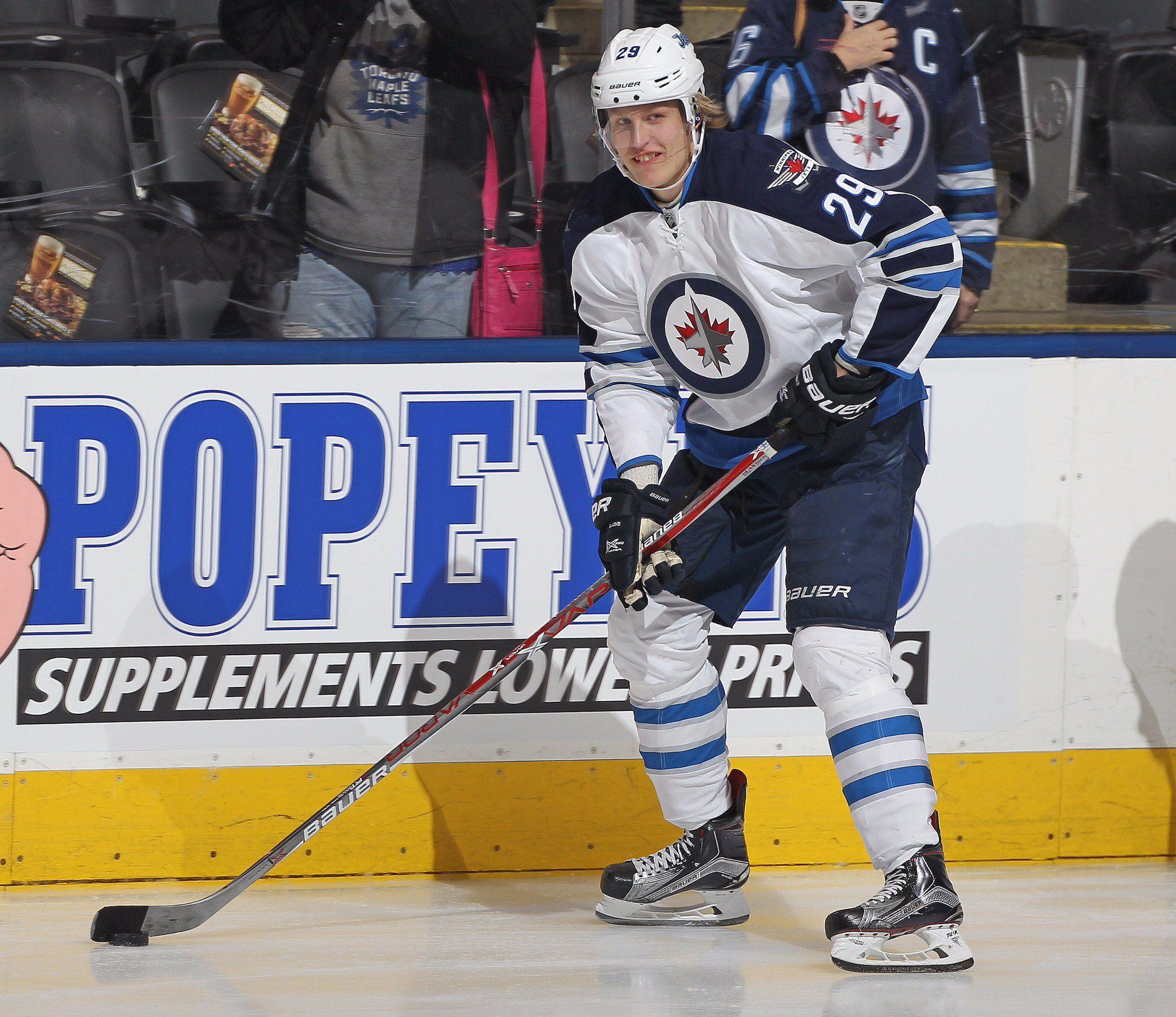 Patrik Laine scored his 29th goal of 2016-17 to regain NHL rookie ...
