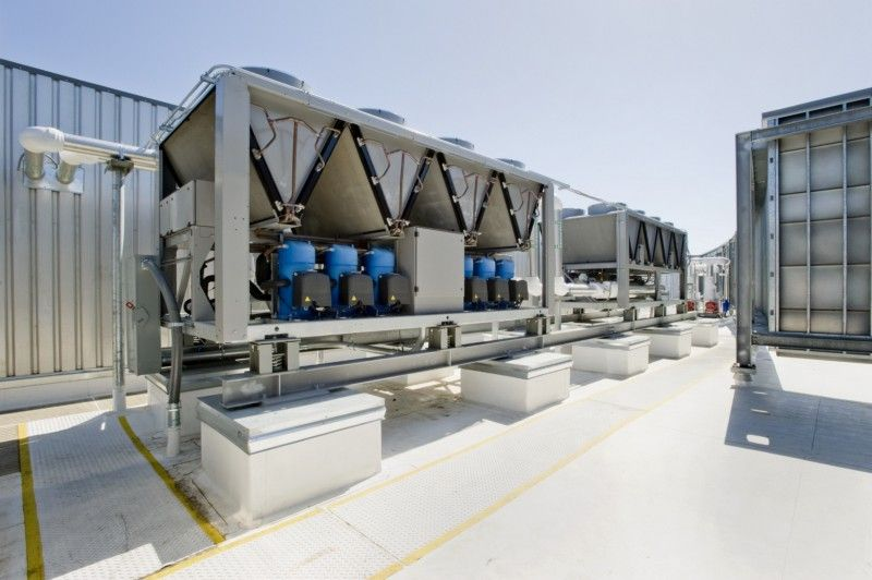 A Quality Hvac System Is Essential For The Workplace Refrigeration And Air Conditioning Hvac Air Conditioning Air Conditioning System Design