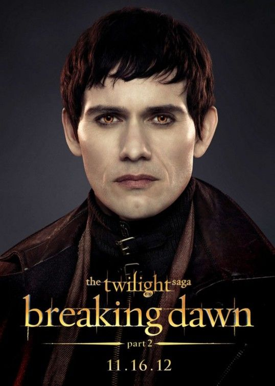 Christian Carnago Is Eleazar Denali In The Twilight Saga