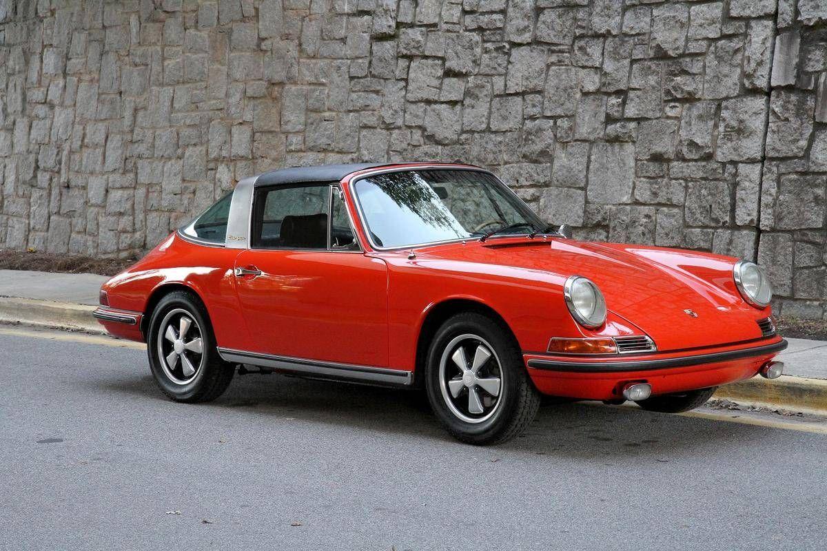 1968 Porsche 911S Targa