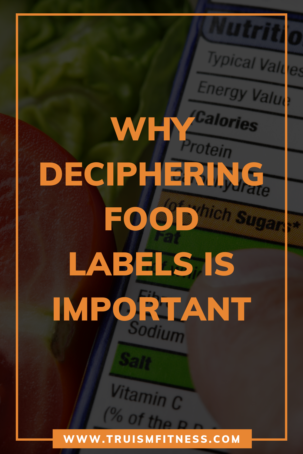 I decided to change my eating habits then I realized that deciphering food labels becomes a must use...