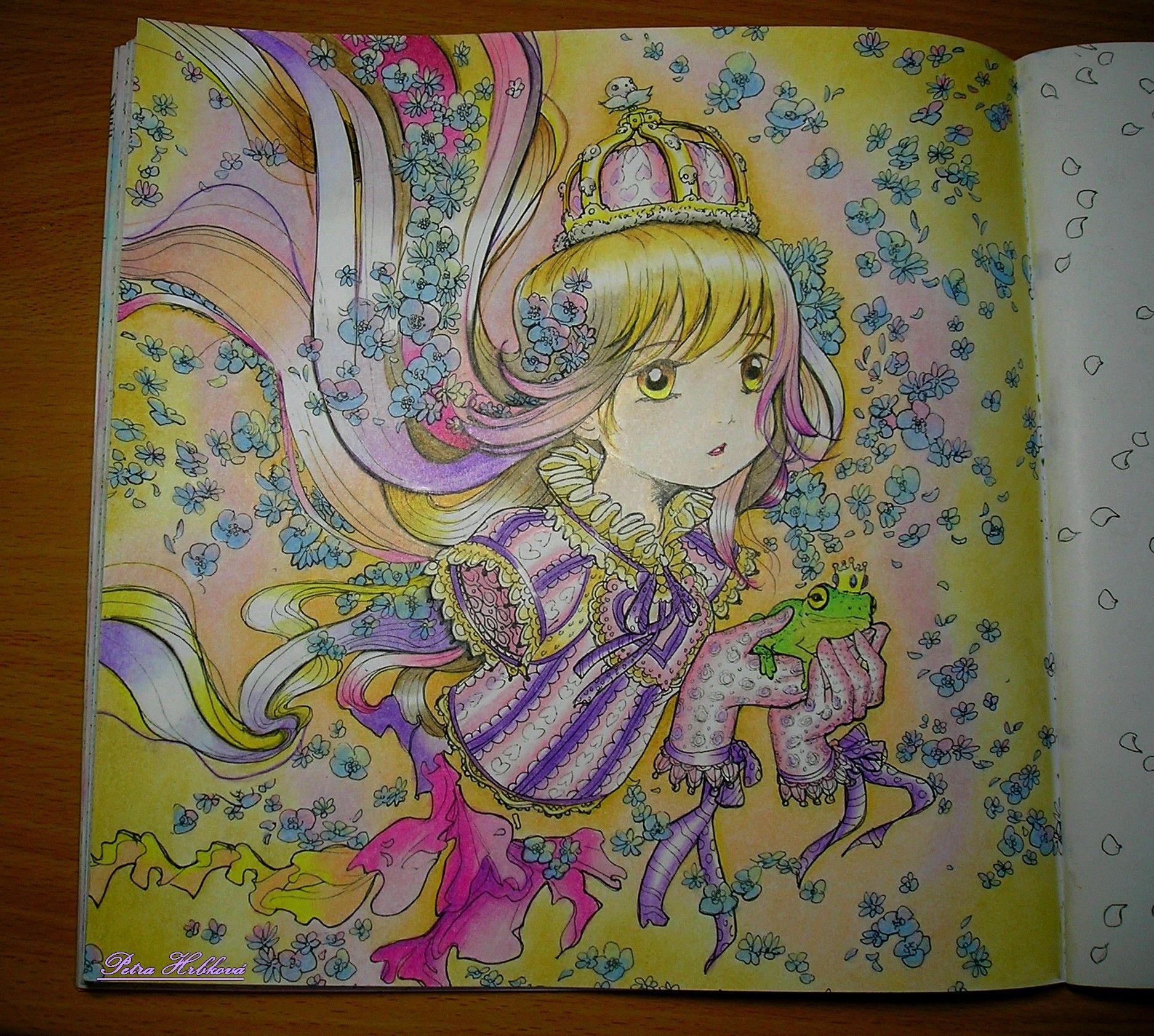 Pop Manga Coloring Book Prismacolor