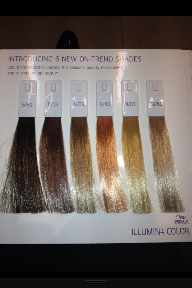 Wella illumina color chart hair shades google search ideas pinterest also erkalnathandedecker rh
