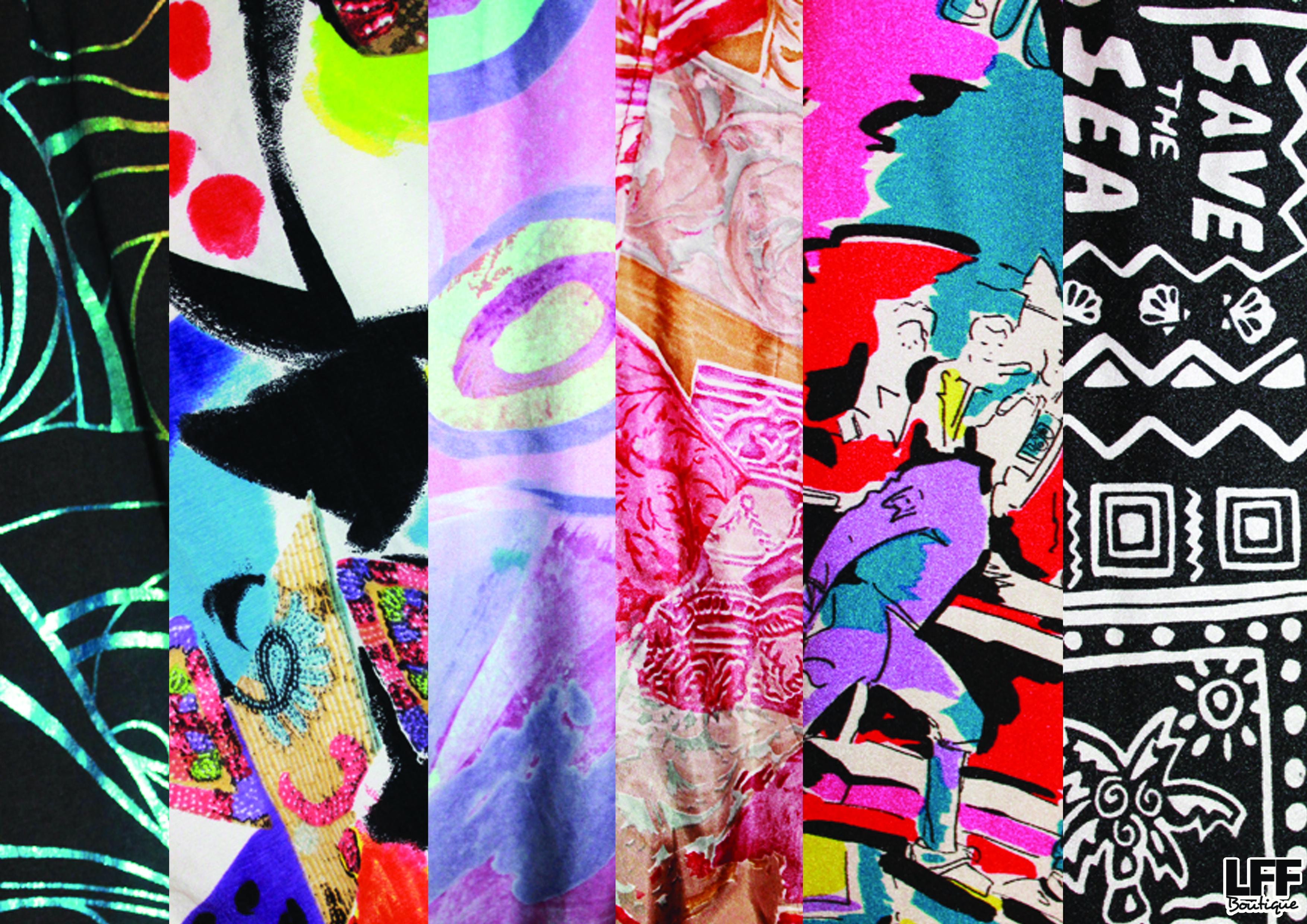 LFF S/S 14 Print Sneak Peek! 90's Clashing Prints! Plus