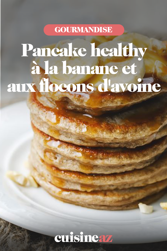 Recette Pancakes Banane Avoine : recette, pancakes, banane, avoine, Pancake, Healthy, Banane, Flocons, D'avoine, Recette, Recettes, Pancake,, Pancakes,, Petit, Dejeuner