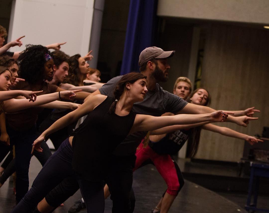 interlochenartsRENT rehearsal.   Interlochen, MI   #Interlochen #InterlochenArts #rentthemusical #musicaltheatre #theatre