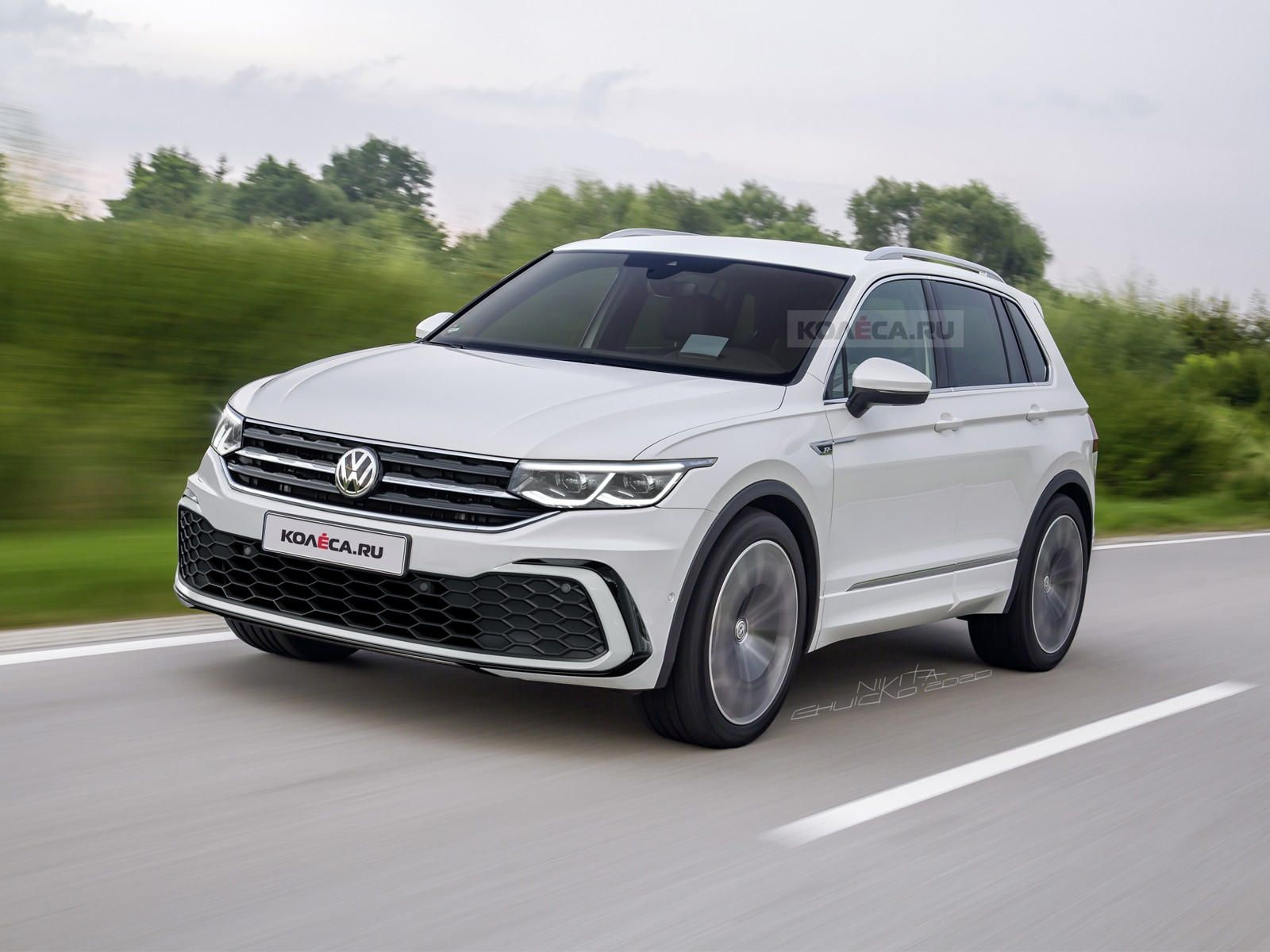 This Is Our Best Look Yet At The 2021 Vw Tiguan We Re Expecting The Volkswagen Tiguan Facelift To Debut At Geneva In March In 2020 Volkswagen Suv Car Review