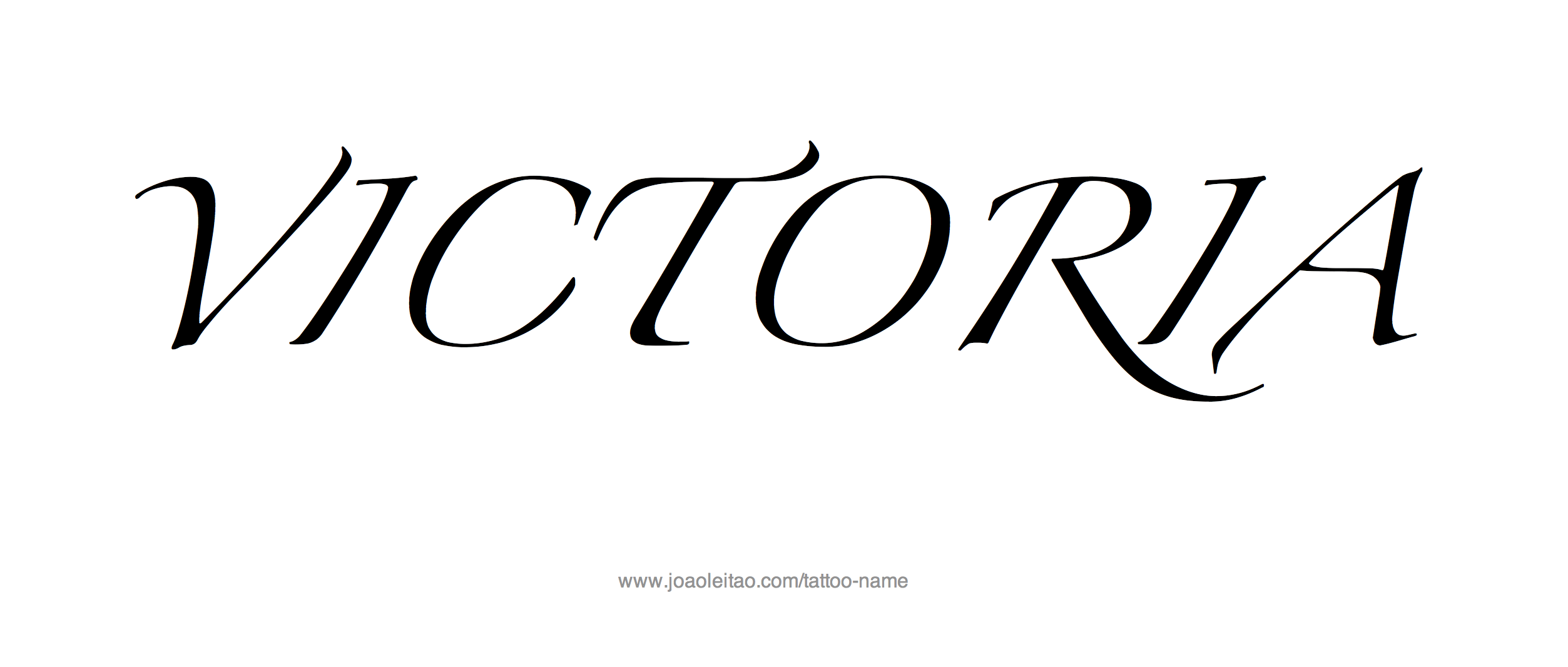 Victoria name tattoo designs tattoo designs tattoo and for Name style design