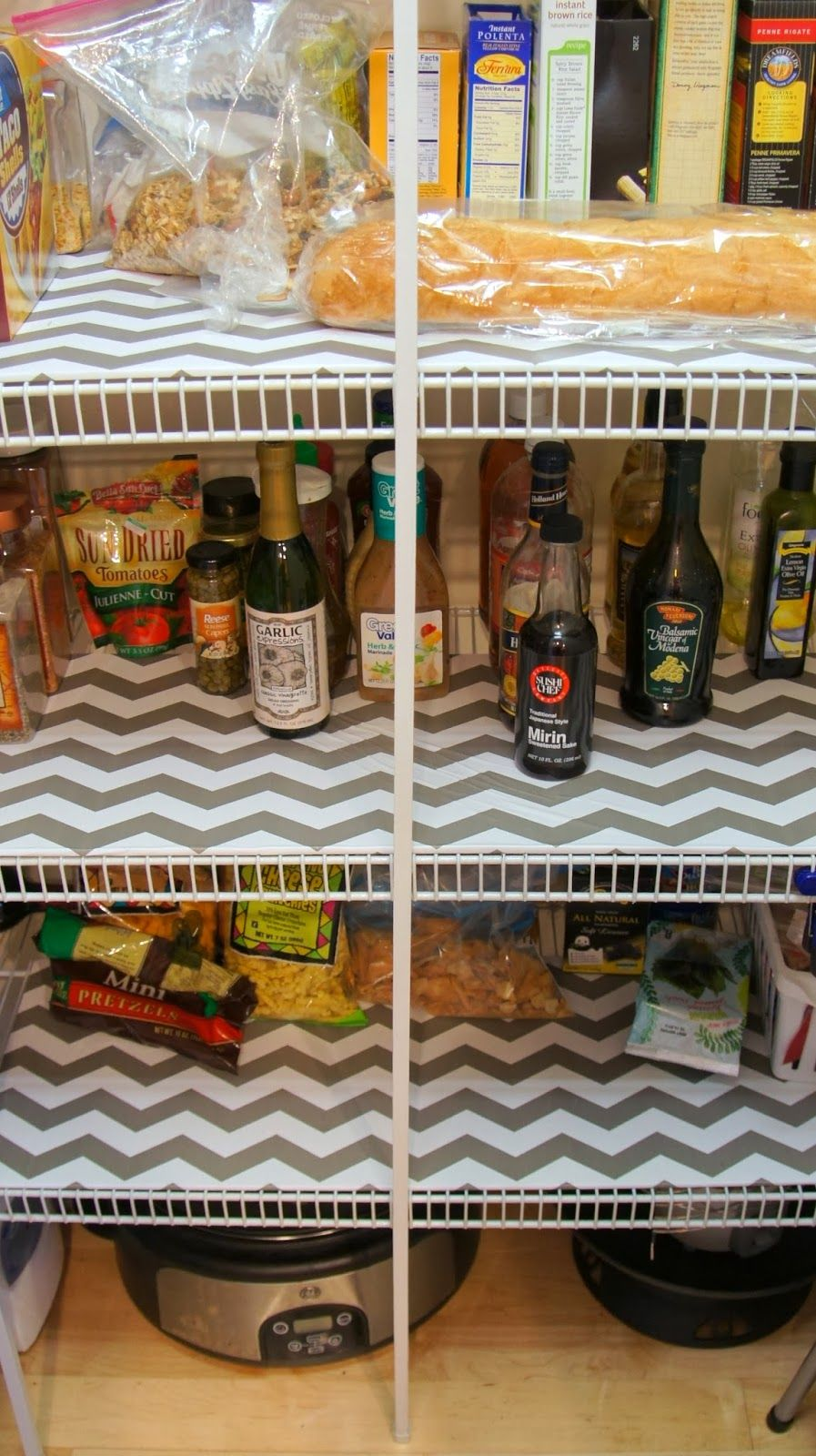 Diy Pantry Shelf Liners With Images