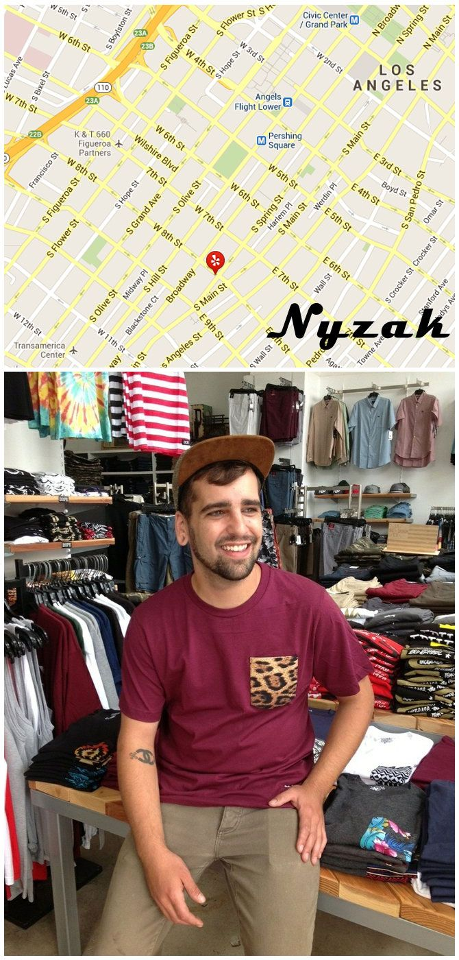 Downtown Los Angeles Outfitters Branch Out With Own Brand Nyzak Http Www Apparelnews Net News 2013 Ju With Images California Design Apparel Design La Fashion District