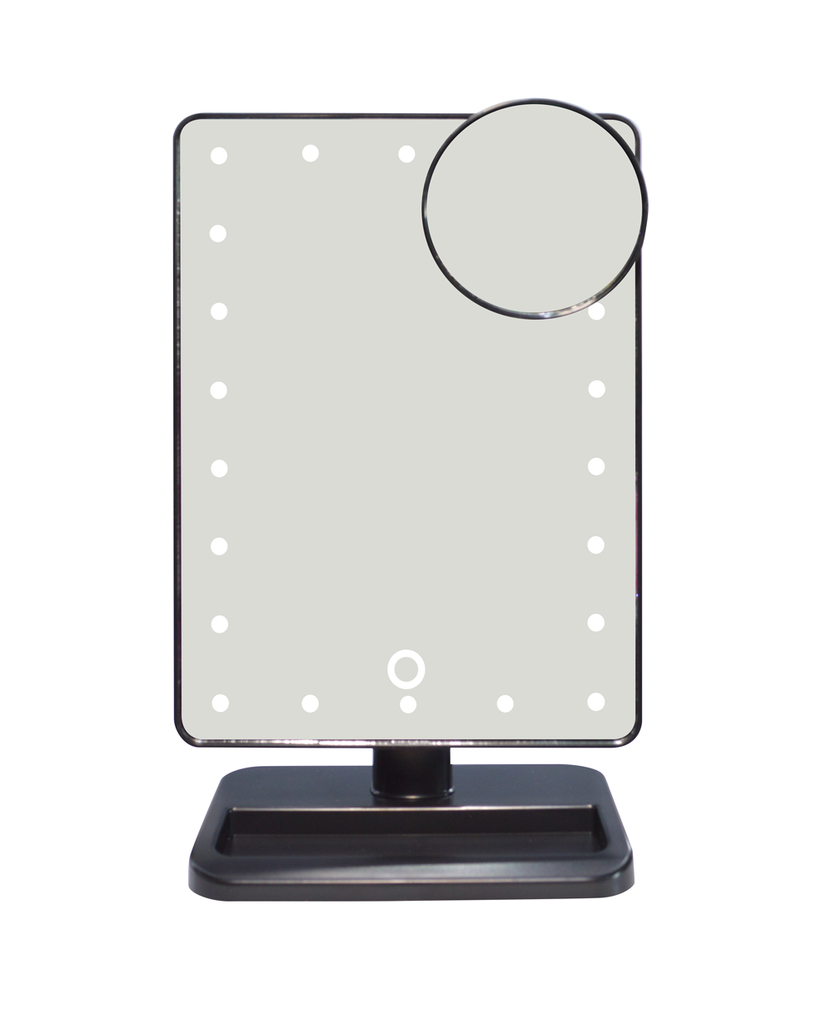 Portable Led Makeup Mirror With Bluetoot... Portable Led