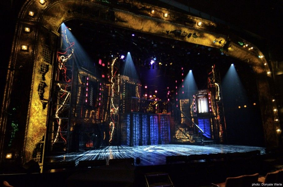 the rocky horror show old globe theatre set design by. Black Bedroom Furniture Sets. Home Design Ideas