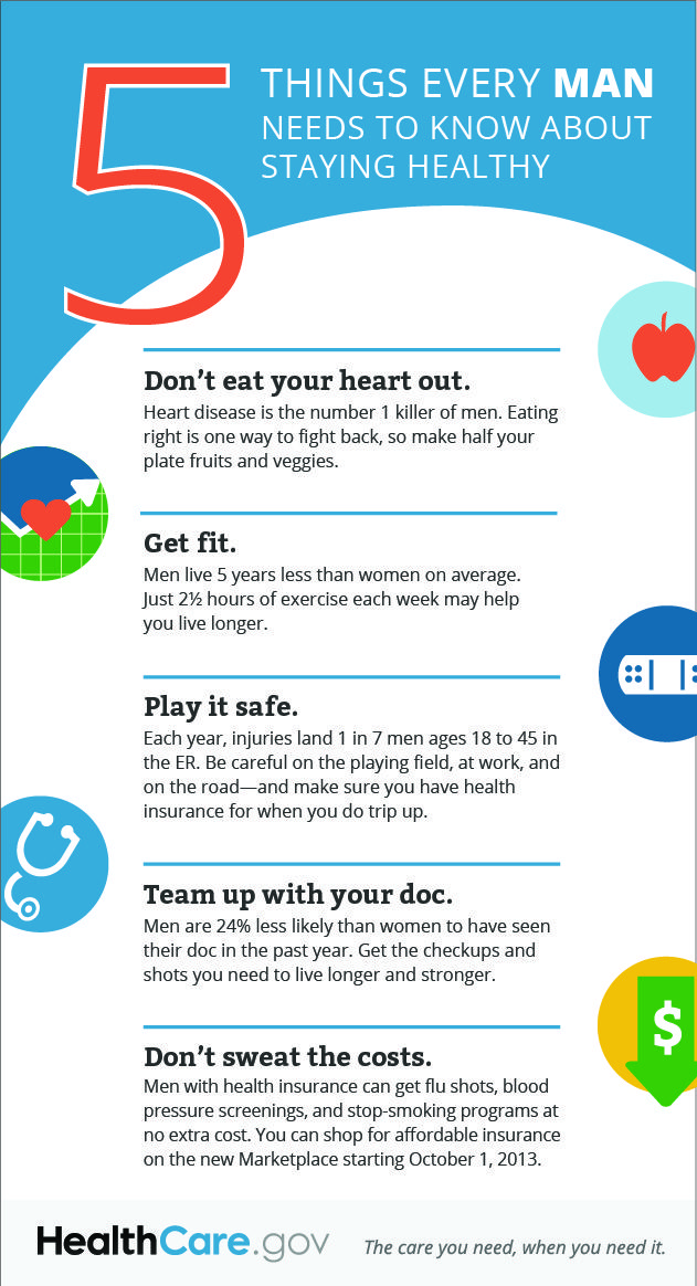 5 Things That Men Need To Know How To Stay Healthy Health And