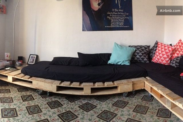 Superior Superb Self Made Sofa In Our Living Room! Zelf Gemaakte Zetels In De  Zitkamer!