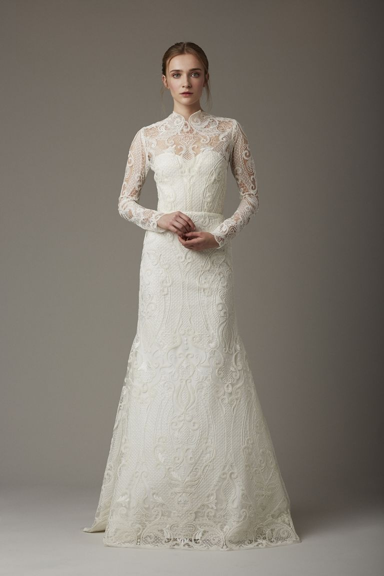 The Most Figure-Flattering Style of Wedding Gown