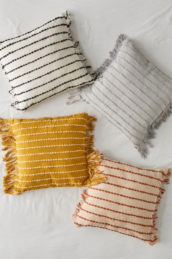 Liana Fringe Throw Pillow In 2020 Throw Pillows Bedroom Throw Pillows Bed Throw Pillow Diy