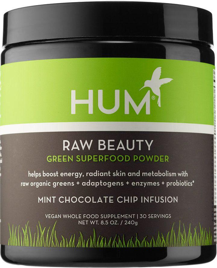 Hum Nutrition Raw Beauty Green Superfood Powder