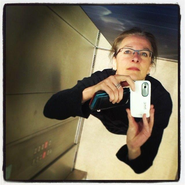 selfie in de lift Instagram photo by @Sabine Draaijer (Sabine Draaijer)   Statigram