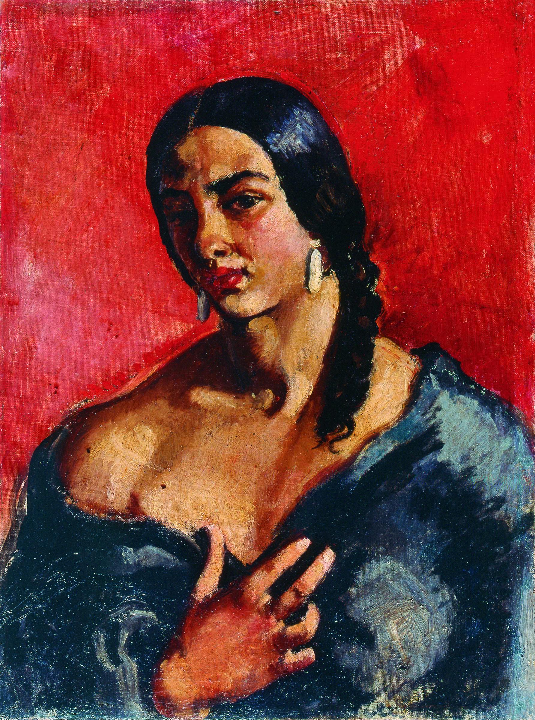 427d1492dcd8 Amrita Sher-Gil - Self Portrait, ca. 1930 | Female Self Portraits in ...