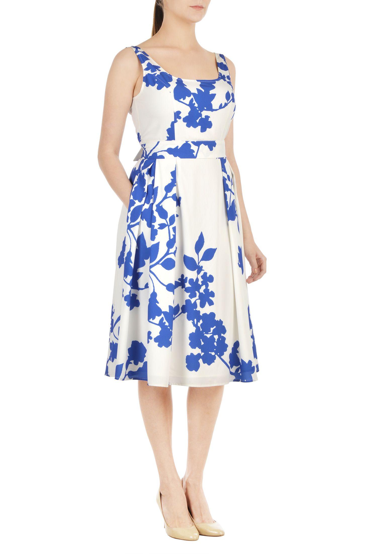 Floral print crepe belted dress pinterest high street fashion