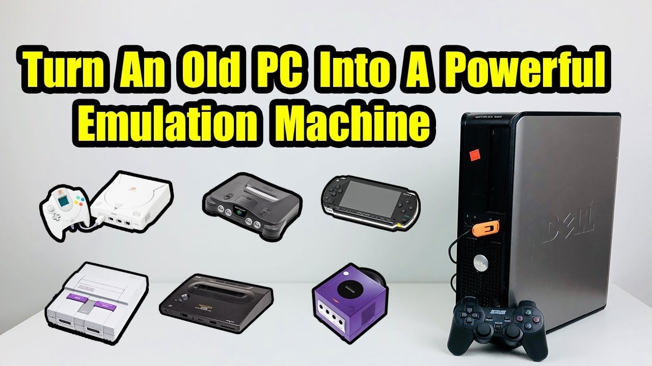 Turn An Old PC Into A Powerful Emulation Machine - RecalBox x86