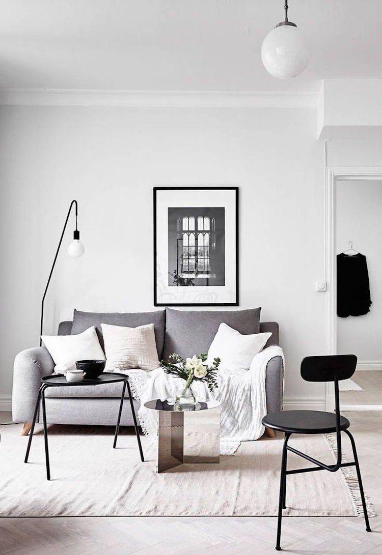 Dites « oui » au salon de style minimaliste et aux idées déco des