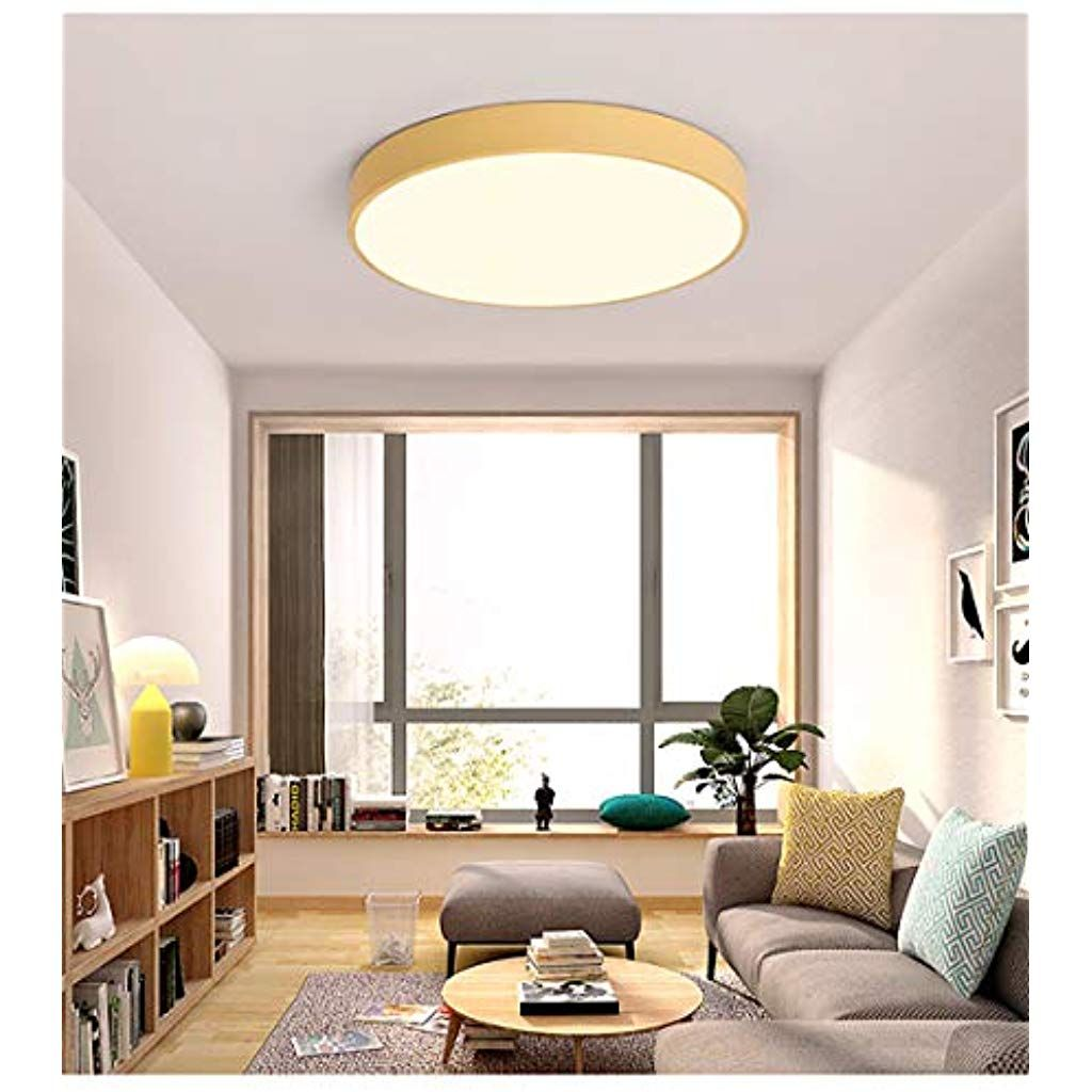 Macaron Led Deckenleuchte Multifarbig Rund Metall Ultradun 5 Cm Deckenlampe Modern Kinderzimmer Lampe Beleuchtung Decke Kuchendeckenleuchten Led Deckenleuchte