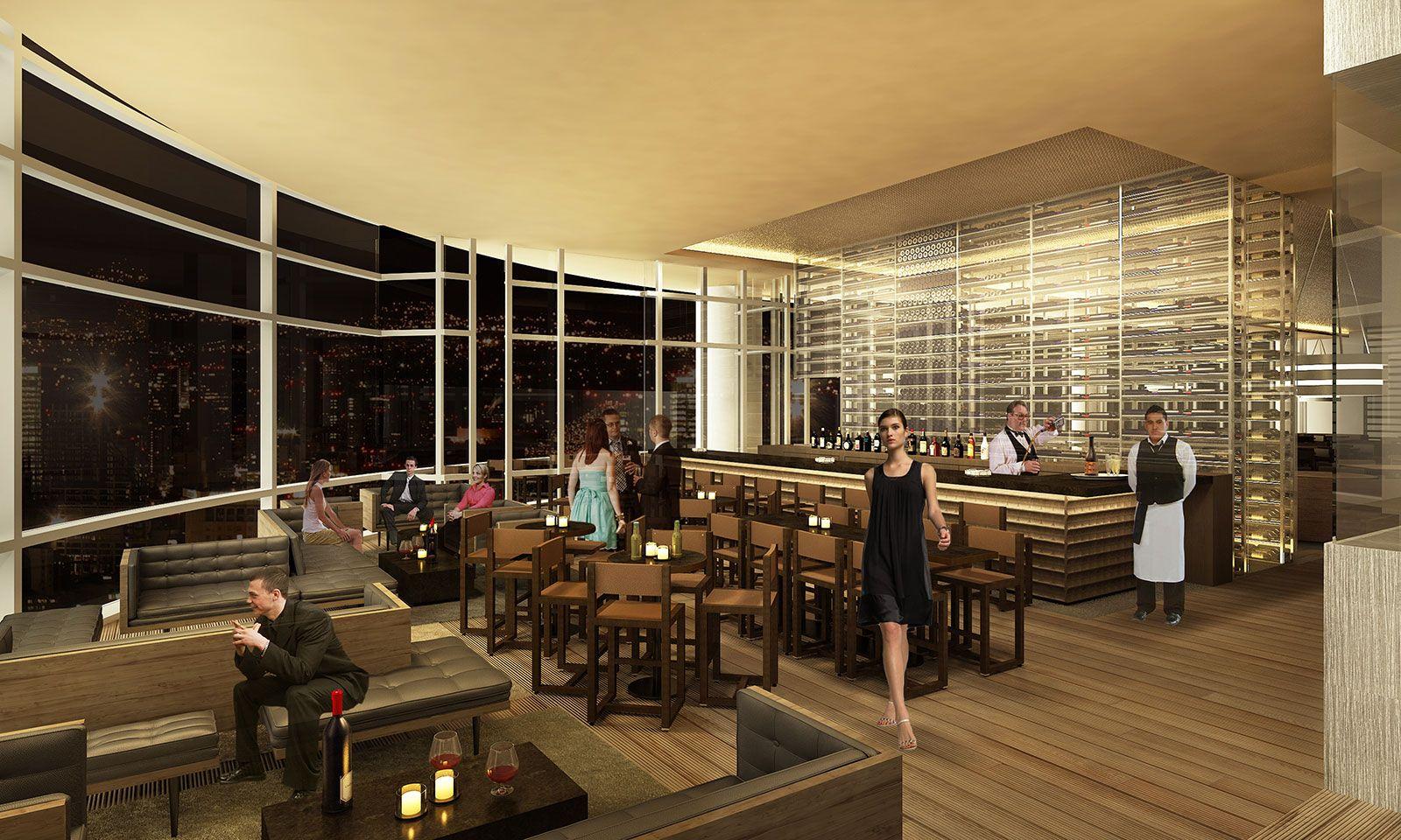 Restaurant exterior architecture - Culinary Restaurant For Simon Hamui Vertexstudio Render Rendering Render_contest Architecture