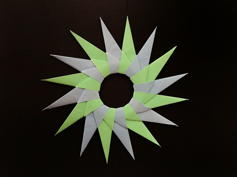 Origami Paper 16 Point Ninja Star Blade10