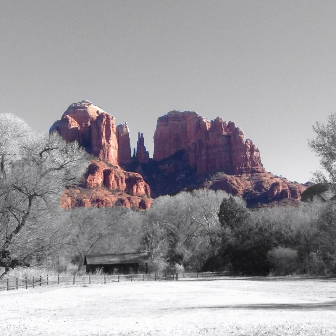 Was in Sedona, AZ yesterday. Took some good pics and edited this one.