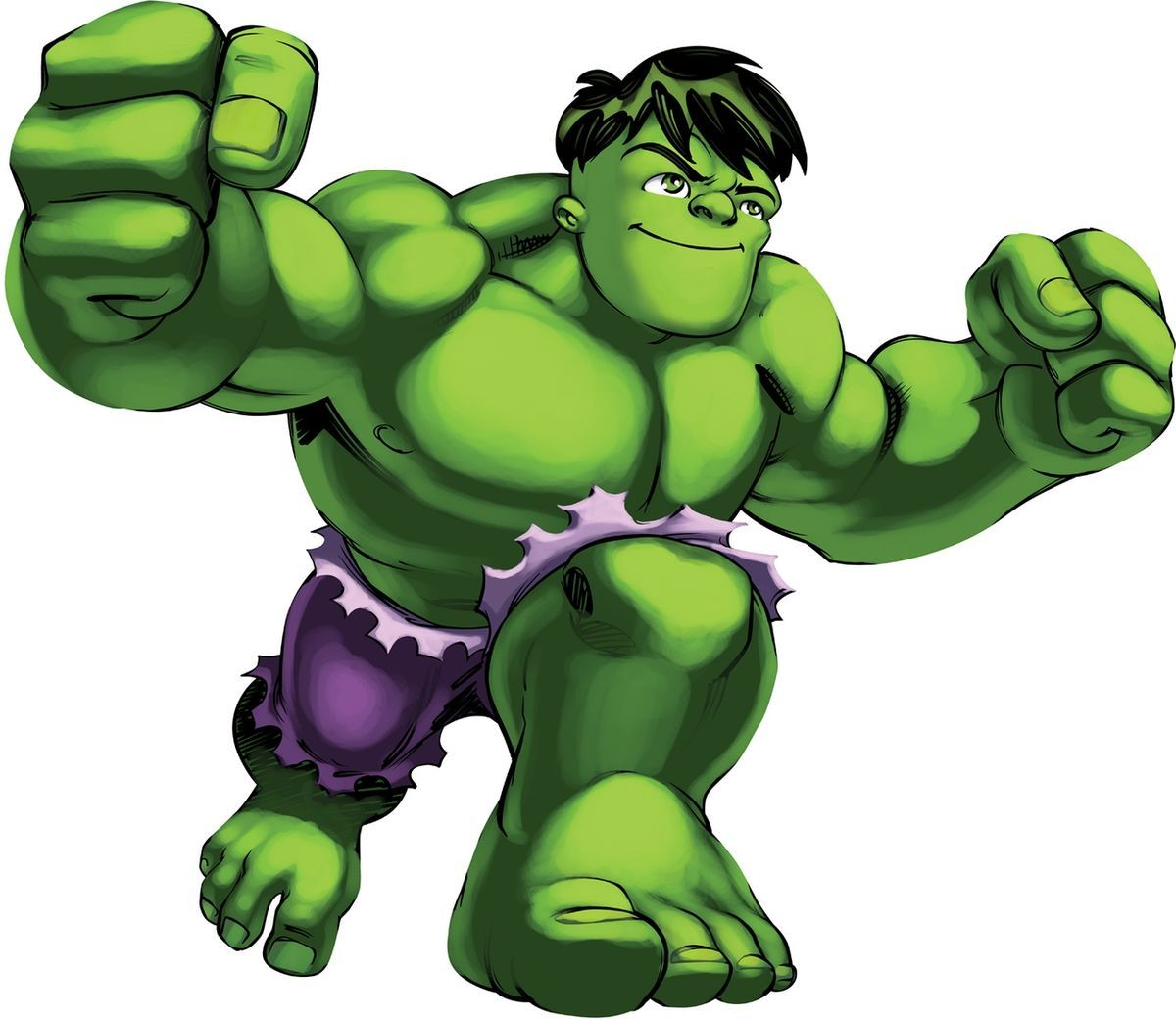 Dibujos Del Increible Hulk Para Colorear E Imprimir