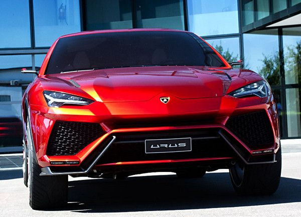 Lamborghini Urus SUV Concept, which is expected to go on sale in ...