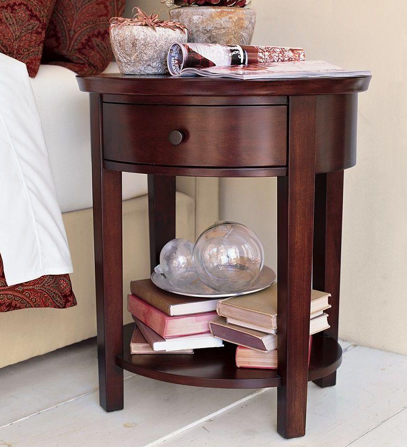 Mesa de noche Oval | Muebles Vintage | Pinterest | Mesita de noche ...