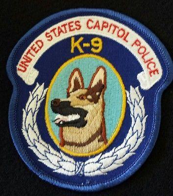 United States Capitol Police K 9 Patch Washington Dc Police
