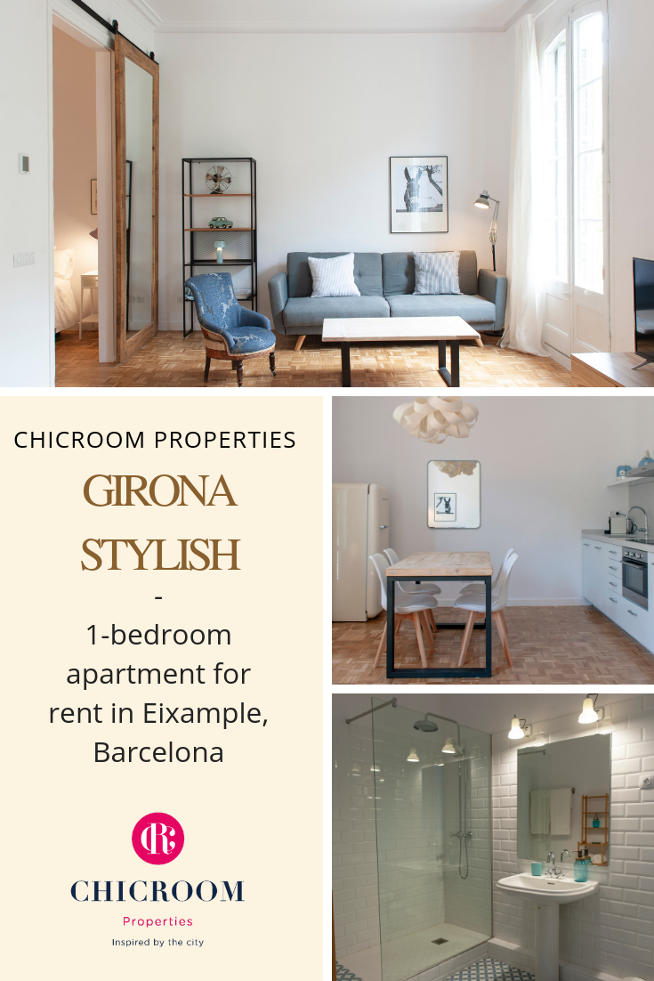 1 Bedroom Apartment For Rent In Eixample Barcelona Girona Stylish Furnished Apartments For Rent Apartments For Rent Renting A House