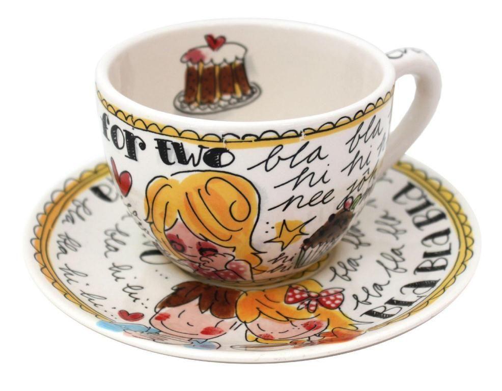 Blond Servies Blokker.Tea For Two Even Bijkletsen Blond Amsterdam Blond