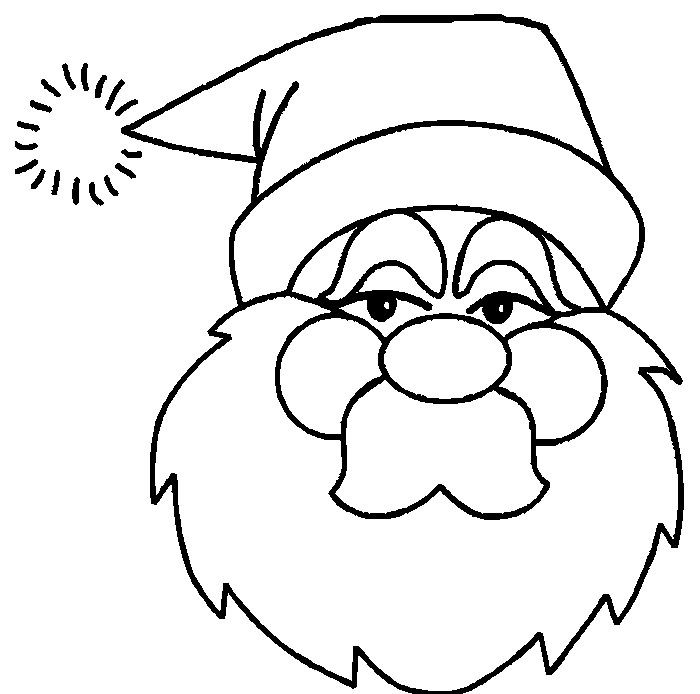 Free Premium Templates Santa Coloring Pages Christmas Coloring Sheets Free Christmas Coloring Sheets