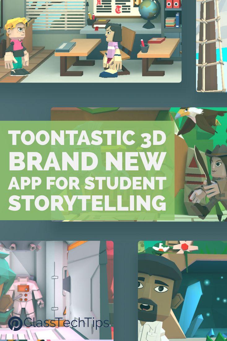 Toontastic 3d Brand New App For Student Storytelling App